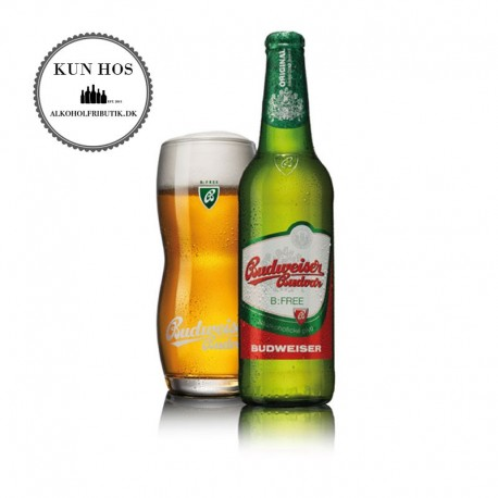 Budvar Budweiser Alkoholfri Pilsner 10 x 50 cl