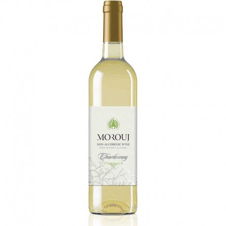 Morouj Chardonnay Alkoholfri Hvidvin 75 cl